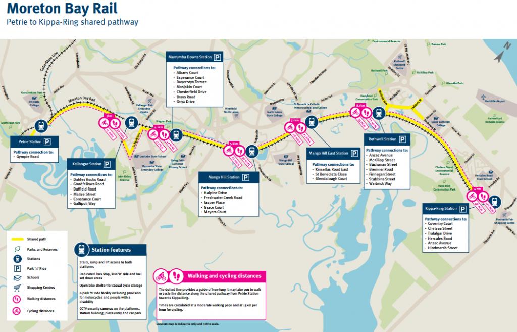 Cycle law - Moreton bay rail