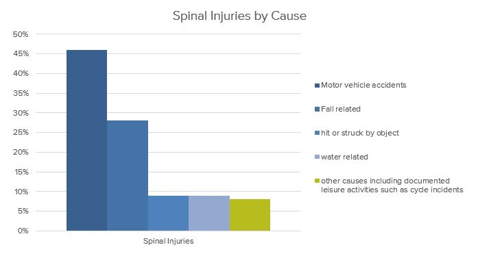 8% of spinal injuries in Australia are cause by leisure activities